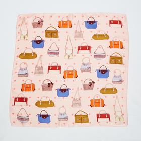 包包印花丝巾