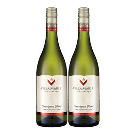 【双支】新玛利庄园珍匣苏维翁白, 新西兰马尔波罗 【Twin Pack】Villa Maria Private Bin Sauvignon Blanc, New Zealand Marlborough