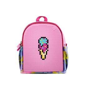 顽意 创意拼图DIY迷你防水背包 男孩女孩可爱两用双肩包创意礼物