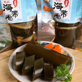 糖醋(香辣)裙带菜与卤煮海带卷