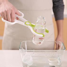 奶瓶夹多功能耐高温防滑奶嘴夹奶瓶消毒夹硅胶防滑奶瓶夹子钳