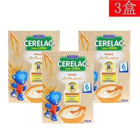 3罐装 | 澳洲 雀巢 Nestle CERELAC婴儿麦片米粉 6个月+ 200g 有效期至2019年1月