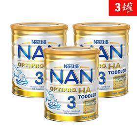 3罐装 | 澳洲 雀巢 Nestle 超级能恩3段 1-2岁 800g 有效期至2019年6月