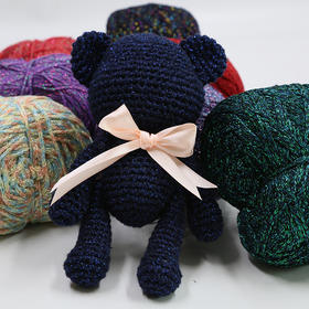 暴力熊线 玩偶线 围巾帽子线 纱线