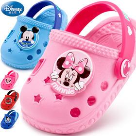 宝宝凉拖鞋男童女童迪士尼夏新儿童室内防滑家居鞋小孩沙滩洞洞鞋