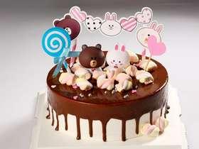 巧克力淋面布朗熊&可妮兔