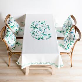 纳谷 | Spring 尤加利乐丽麻桌布