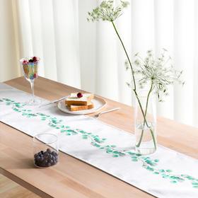 Spring 万物·尤加利小叶桌旗