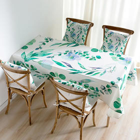Spring 万物·尤加利乐丽麻桌布