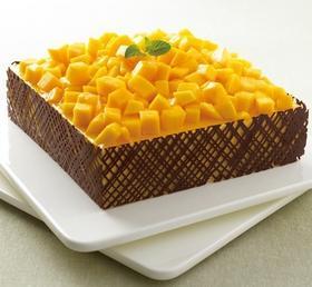 Mango mousse芒果慕斯