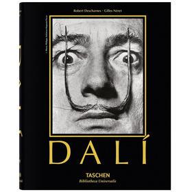 【德国TASCHEN】Dali,达利超现实绘画作品集