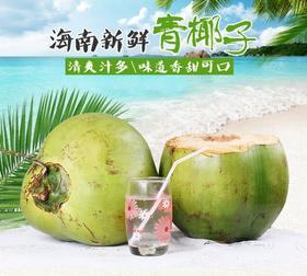海南带皮新鲜椰子 精选1kg 新鲜采摘三亚嫩椰-835120
