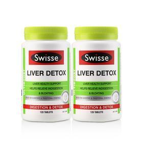 2瓶装 |【养肝护肝 解酒常备】澳洲 Swisse 护肝片 120粒