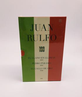 Obras de JUAN RULFO (EDICIÓN CONMEMORATIVA DEL CENTENARIO)