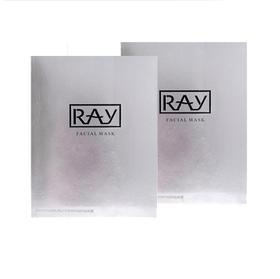 2盒装 | 泰国  RAY 补水保湿 银色蚕丝面膜 10片