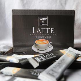 沃欧咖啡 经典拿铁即溶咖啡15g*28条
