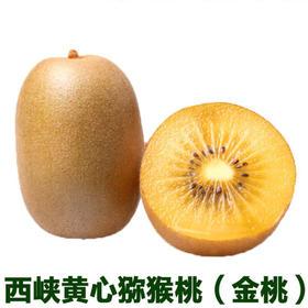 西峡黄心猕猴桃 精选2斤装 金桃黄金果奇异果深山农家-835080