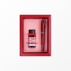 ipluso意索丨小奥汀情人红钢笔套装