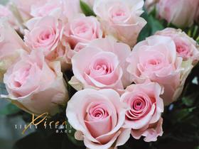 粉佳人荔枝玫瑰花