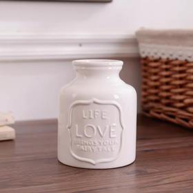 美式乡村陶瓷花瓶