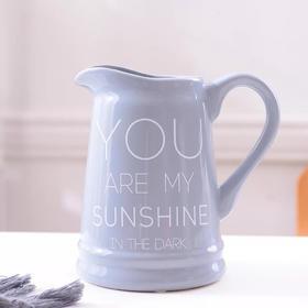 简约小清新现代法式浪漫陶瓷花瓶
