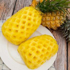云南河口小菠萝 酸甜多汁 薄皮易切 树上自然熟 无需泡盐水 净重8斤装