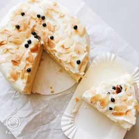 爆浆芝士奶盖蛋糕