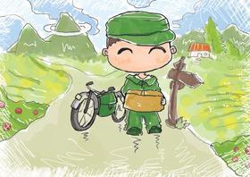 乐报小记者走进中国邮政亲子活动