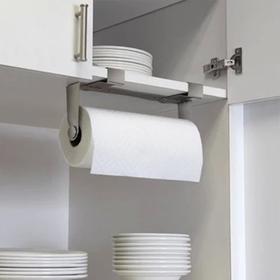 加拿大 Umbra 骑警创意厨房纸巾架 纸架盒卫生间浴室不锈钢卷纸架