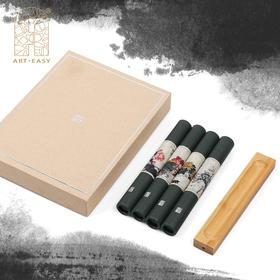 吴昌硕四季中式传统合香套装香道含香插