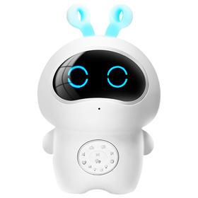 儿童智能机器人 童之声 智能玩具早教益智早教机wifi聊天机器人故事机学习机陪伴机器人 白色