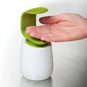 英国joseph joseph时尚创意C型手背按压洗手液瓶皂液器余量瓶