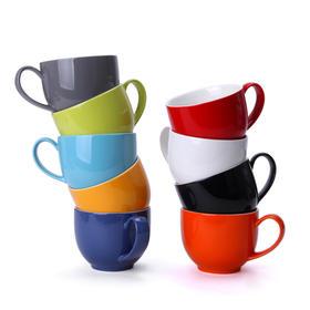 美国FORLIFE时尚Q系列 办公室无铅陶瓷茶杯 高档水杯茶具
