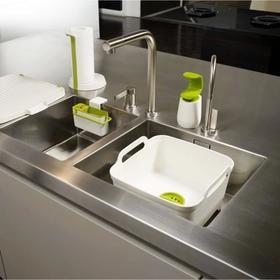 包邮英国Joseph清洗槽滤水器洗菜篮刷碗池槽刷碗盆可移动水槽