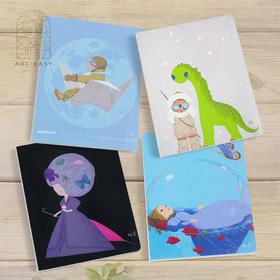 4本包邮 艺术素描本美术绘画空白本 速写本记事本手绘涂鸦本子