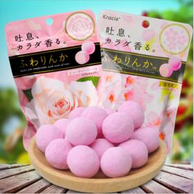 【日本】行货日本进口KRACIE玫瑰香味糖果32g