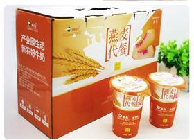 预售 瑞安淘 【新农】燕麦酸奶 180g*12杯 纯天然