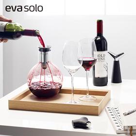 丹麦Eva Solo进口时尚红酒葡萄酒球型手工玻璃醒酒器倒酒器