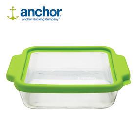 ANCHOR HOCKING新款美国原装烘焙钢化玻璃烤盘大容量带盖保鲜盒