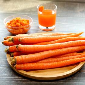 【年度爆款 手指水果胡萝卜】 非转基因认证 清甜爽脆 富含胡萝卜素 顺丰包邮