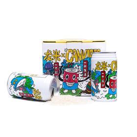有机丨龙米·罐头视频IP定制款 丨纯正五常稻花香2号丨310g×4罐装丨包邮哟
