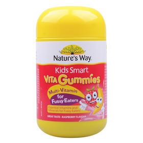 澳洲Natures Way佳思敏挑食儿童多元维他命软糖60粒