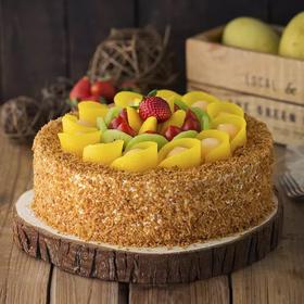 盛放鲜果 蛋糕