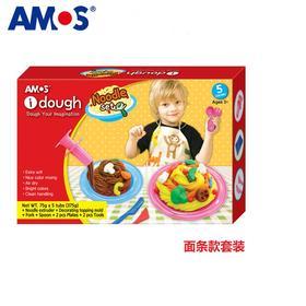 韩国AMOS丨进口儿童3D橡皮泥套装 彩泥黏土无毒环保 手工DIY玩具