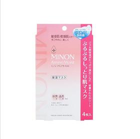 【化妆品】。 MINON氨基酸补水保湿面膜 化妆品蚕丝面膜