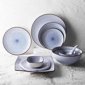 日式简约陶瓷家用餐具