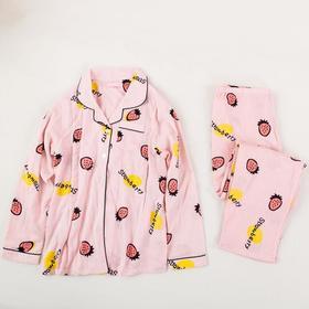 春夏季长袖居家款双层纱透气家居服 /睡衣/月子服