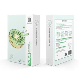 新西兰DDMASK奇异果营养滋润面膜7片/盒