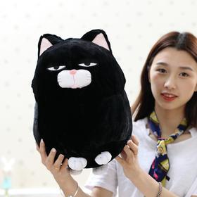 可爱胡子馒头猫福气系列超萌猫咪小公仔