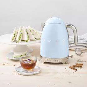 【官方国行 售后保证】意大利 SMEG 复古电热水壶 家用小型自动断电 可调温 烧水壶